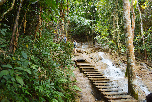 Steps to Waterfall