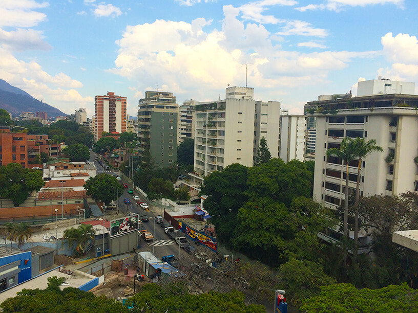 city view of caracas