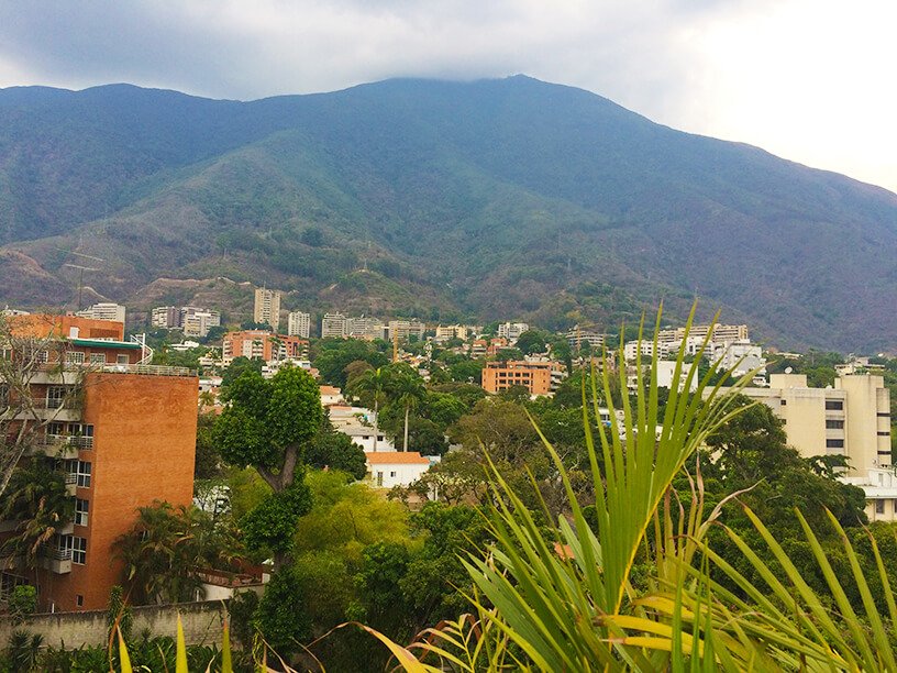 mountain near caracas city