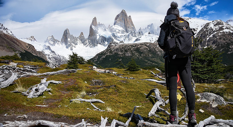 fitz roy approach hike argentina