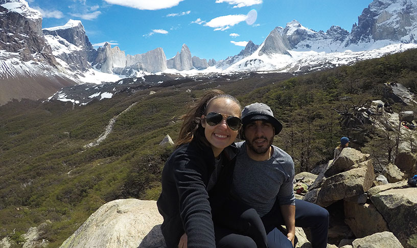 couple in south america