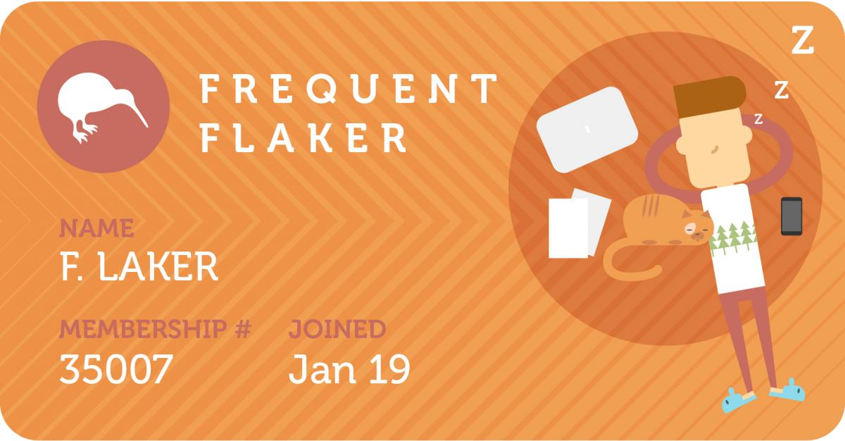 Frequent Flaker Travel Card