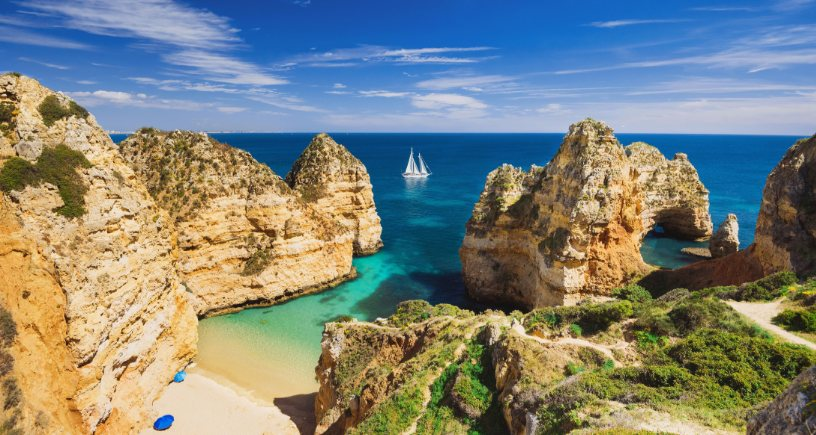 Beach Paradise in Southern Portugal