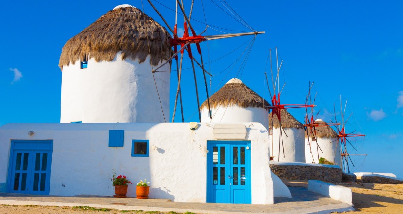 house at Greece