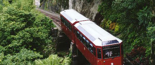Victoria Peak Tram in Hong Kong