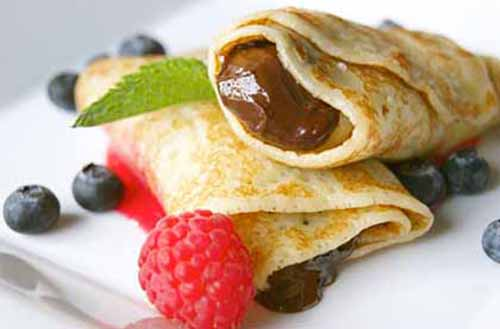Crepes come in all sizes and flavours, depending on your personal preference but Nutella crepes are among the most popular.