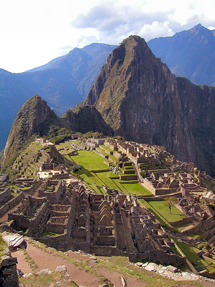 Machu Picchu towers 2,400m above sea level and is often overlooked for the altitude changes tourists can and often do experiencing when visiting the ancient ruins.
