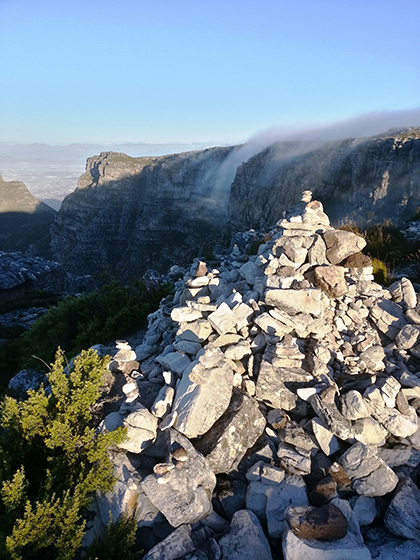 Table Mountain is a perpetual favourite of adventure travellers in South Africa