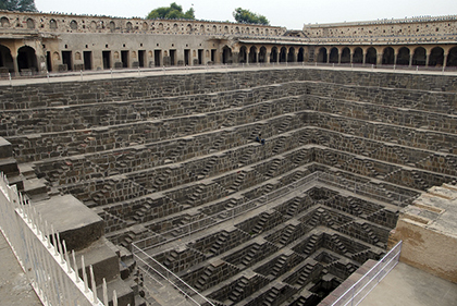 The Chand Baori in India is an unbelievable place to visit, and to get an amazing leg workout, too. Read on for more great workouts around the world.