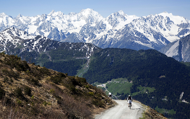 If you're a fan of mountain biking, head to Europe for some of the best trails out there.