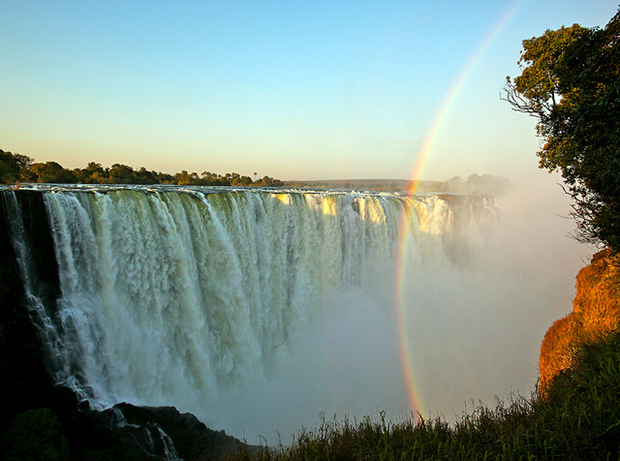 The always stunning Victoria Falls is a great spot to visit on your honeymoon, and one of Cover-More's best honeymoon destinations 2015.