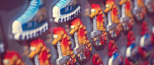 Souvenir seahorse magnets are awesome mementos, but it is important to know how to pack your souvenirs so they make it home in one piece