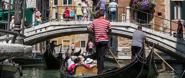 Gondola rides are everyone's idea of how to see Venice by boat