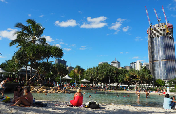 Beach Southbank Brisbane