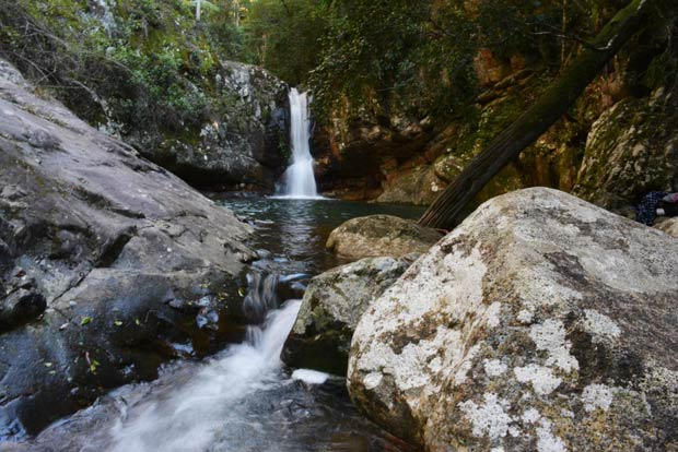 Mt Barney Waterfall