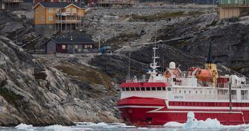 Greenland boat