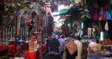Markets for souvenirs