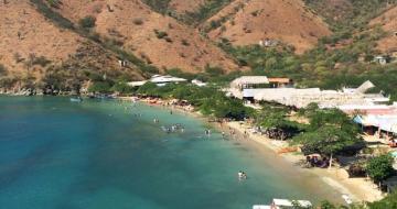 Santa Marta Taganga Grande Beach