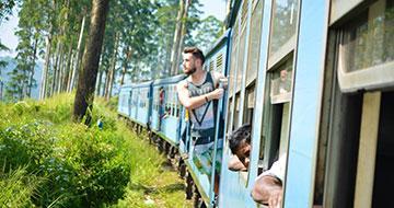 Sri Lanka train ride to ella