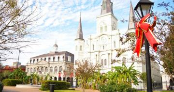 St Louise Cathedral New Orleans USA